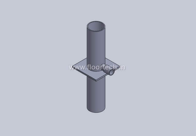 PVC Floor Punching Puddle Flange View 2
